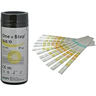Health Mate 10 Parameter Professional/ GP Urinalysis Multisticks Urine Strip Test Stick Strips - Pack of 100 Strips