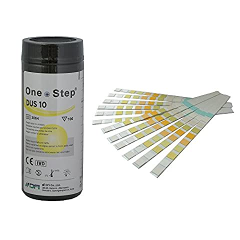 Health Mate 10 Parameter Professional/ GP Urinalysis Multisticks Urine Strip Test Stick Strips - Pack of 100