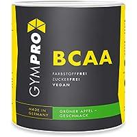GymPro BCAA Pulver (Aminosäuren), Aminos 2:1:1, vegan, instantisiert - (Grüner Apfel, 500g) preisvergleich bei billige-tabletten.eu