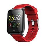 Bluetooth IP67 a Prueba de Agua del Ritmo cardíaco Inteligente Aptitud del Reloj Pantalla táctil de TFT la Pulsera del Reloj del Deporte