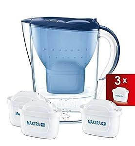 diseño paginas web madrid: Brita Marella MAXTRA+ Jarra de Agua Filtrada con 3 Cartuchos, Filtro de Agua Bri...
