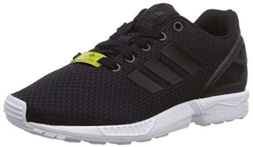 adidas - Zx Flux J, Zapatillas de Gimnasia Unisex Niños, Negro (Black/black/ftwr White), 30 EU