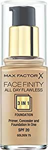Max Factor All Day Flawless 3-in-1 Foundation - Golden
