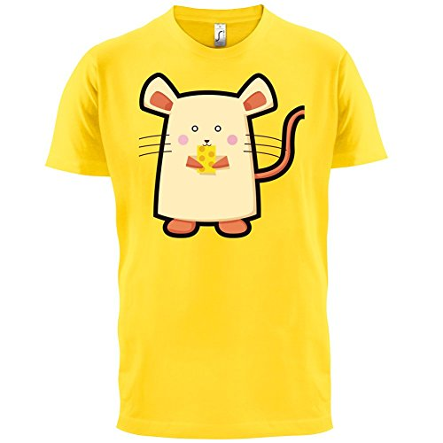 Cute Mouse - Herren T-Shirt - 13 Farben Gelb