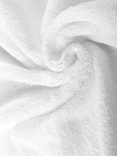 herzbach home Luxus Saunatuch Premium Qualität Weiß - 3