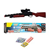 HALO NATION Sniper Gun Crystal Bullet Weapon - 2 Modes - Water Bullets & Crystal Bullet - 62 cm Police Rifle for Kids