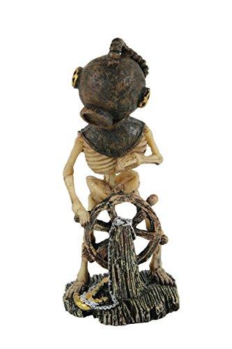 arium Skelett Taucher Ruder L 6x P 6,5x H 15cm ()