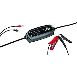 CTEK CT5 Powersport Hochfrequenz-Ladegerät, Perfekt Für Alle Motorräder, Quads, Jet-Skis und Motorschlitten
