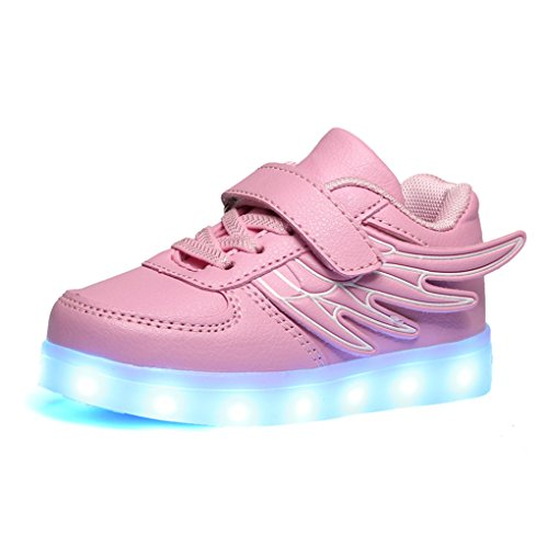BOOWJESSEA , Baskets mode pour fille Rose