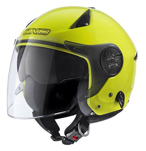 AXO Helm Polis, fluo gelb, M