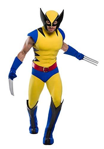 Charades Premium Marvel Wolverine Men's Fancy Dress Costume - Wolverine Fancy Dress Kostüm