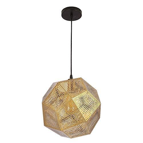 Edelstahl Geometrische Kronleuchter Metall Persönlichkeit Kunst Bar Restaurant Coffee Shop Lampen Laternen, Gold Farbe -