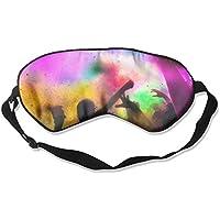 Comfortable Sleep Eyes Masks Carnival Printed Sleeping Mask For Travelling, Night Noon Nap, Mediation Or Yoga preisvergleich bei billige-tabletten.eu