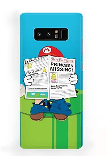 Case Me Up Handy Hülle für Samsung Galaxy Note 8 Super Mario Bros Luigi Old School Game 15 Designs
