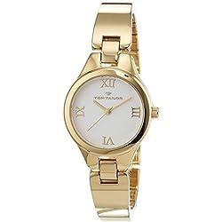 TOM TAILOR Watches Damen-Armbanduhr Analog Quarz Edelstahl beschichtet 5414401