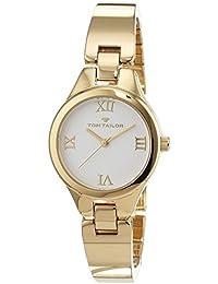 TOM Tailor de relojes mujer-reloj analógico de cuarzo chapado en acero inoxidable 5414401