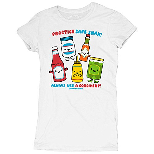 David and Goliath Safe Snax Womens T-shirt 41k7uQHBWML