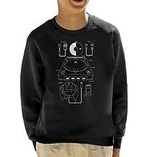 Sega Dreamcast Patent Blueprint Kid's Sweatshirt