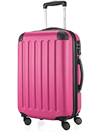 Amazon.co.uk: Pink - Carry-Ons / Suitcases & Travel Bags: Luggage