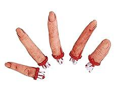 Warum nur einen Finger nehmen wenn man die ganze Hand haben kann. Okay, einen Handteller finden Sie hier nicht mehr. Der ist wohl auf dem Weg vom Sägewerk verloren gegangen. Die 5 Greifer aber, die sind noch komplett. Weich und fies, blutig mit Knoch...
