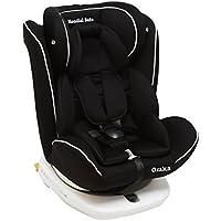 Mondial Safe Osaka 2 916 - Silla de bebé para automóvil, color negro con ribete