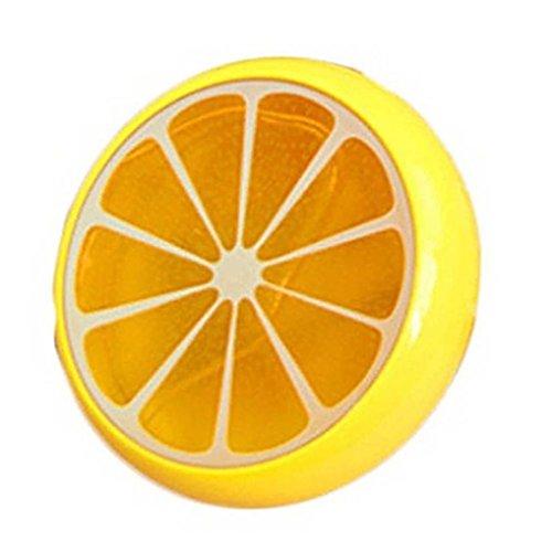 Kristall Fruit Ton Gummi Mud Intelligente Hand Gum Knetmasse schlamm Kid toys-honestyi-yellow (Niedliche Lebensmittel Für Kinder Halloween)