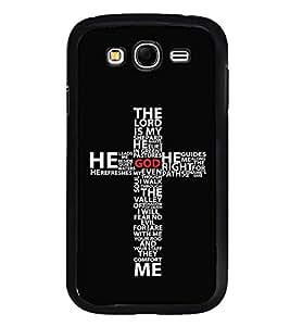 Fuson Designer Back Case Cover for Samsung Galaxy Grand Neo I9060 :: Samsung Galaxy Grand Lite (God Godess Jesus Guide Right Path cross)