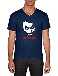 Touchlines Joker-Why So Serious, T-Shirt Homme