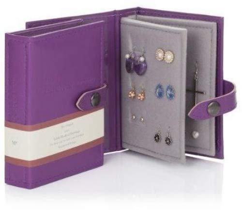 Little Little Book of Earrings - Small Size - PURPLE