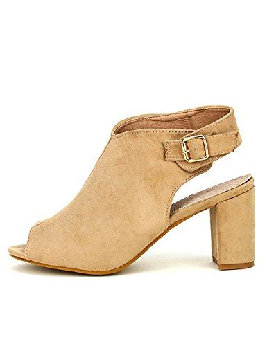 Cendriyon Sandale Beige Rebecca Chaussures Femme