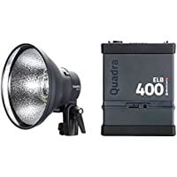 El poucesrom EL10418,1 ELB 400 Flash Portable Hi-Sync Noir