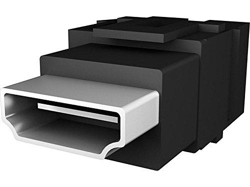 Bachmann 918.040 1x Custom Modul HDMI Buchse Keystone, Schwarz