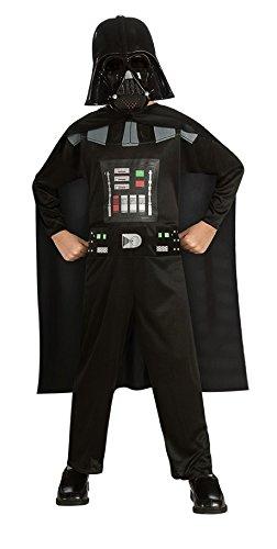Rubie's - Disfraz Darth Vader Star Wars de niño de 5 a 6 años (882848-MD)