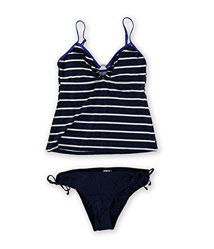 Frauen Nautica Bikini (Womens Keyhole Side Tie 2 St¨¹ck Bikini Nvy 8)