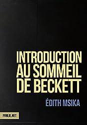 Introduction au sommeil de Beckett