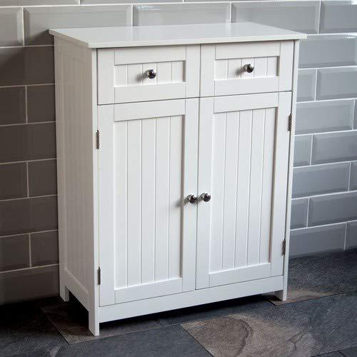 Bath Vida Priano Badschrank mit 2 Türen und 2 Schubladen