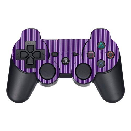 Disagu Design Skin für Sony PS3 Controller - Motiv Blechoptik Lila (Controller Skin-lila Ps3)