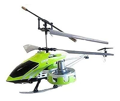 Green AVATAR Z008 4CH 4 Channel Mini Metal RC Remote Control Helicopter Light GYRO RTF