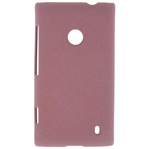 Heartly QuickSand Matte Finish Hybrid Flip Thin Hard Bumper Back Case Cover For Nokia Lumia 520 - Vintage Burgundy  available at amazon for Rs.299