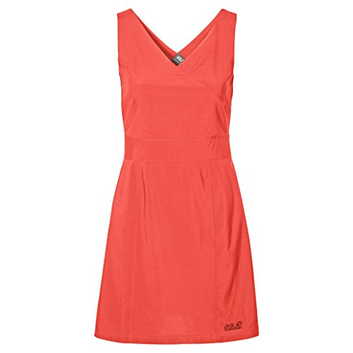 Jack Wolfskin Damen Kleid Wahia Dress Hot Coral