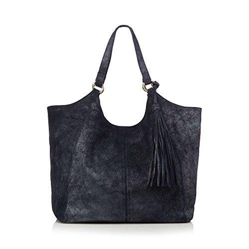 nine-by-savannah-miller-womens-navy-metallic-leather-tote-bag
