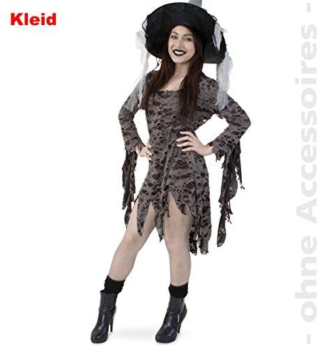 Party-Chic 12886 Damen Kostüm Voodoo Queen-Kleid-Gr. 46