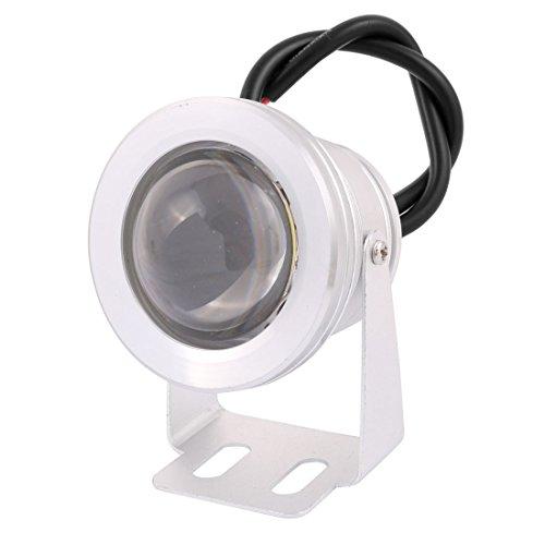 sourcingmap® DC 12 V, 10 W LED Unterwasserleuchte Aquarium Brunnen Pool Lampe Wasserdicht Blau (Brunnen-pool)