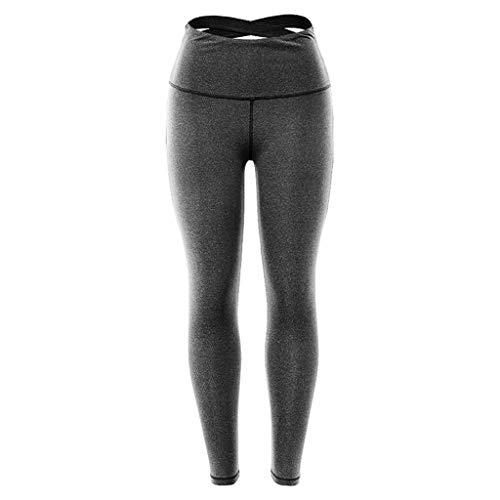 Xinantime Yoga Pants, Leggins Sportivi Donna Yoga Pantaloni Palestra Pantaloni di Yoga Donne in Vita Leggings da Allenamento Elastico