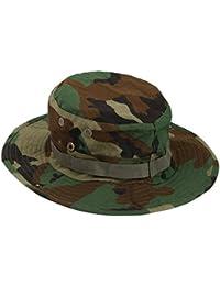 Draußen Angeln Hike Tarnfarbe Armee Militär Dschungelhut Eimer Hut Sun Kappe