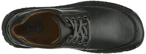 Josef Seibel Schuhfabrik GmbH Kongo Herren Derby Schnürhalbschuhe Schwarz (schwarz 600)