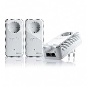 Devolo 9140 Kit de réseau sans fil dLAN 500 duo+ pour adaptateur de communication par ligne électrique