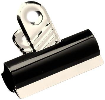 Bürobedarf klammern  5 Star Grip Clips Klammern 50 mm breit Metall 10 Stück silbern ...