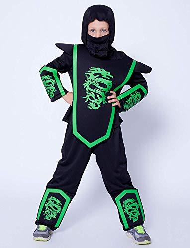 Dragon Ninja Fighter Kinderkostüm-Kinder - Dragon Fighter Kostüm
