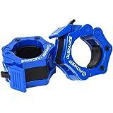 POWER GUIDANCE - Gewichtheben Barbell Clamp Kragen - Schnellwechsel-Paar Locking 50mm Olympic Bar -...